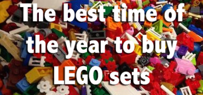 Best time of the year to buy LEGO sets - Christie Dedman