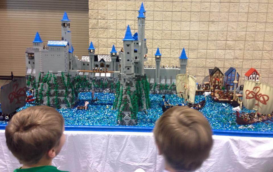 castle lego brickfair 2
