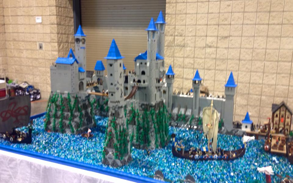 castle lego brickfair