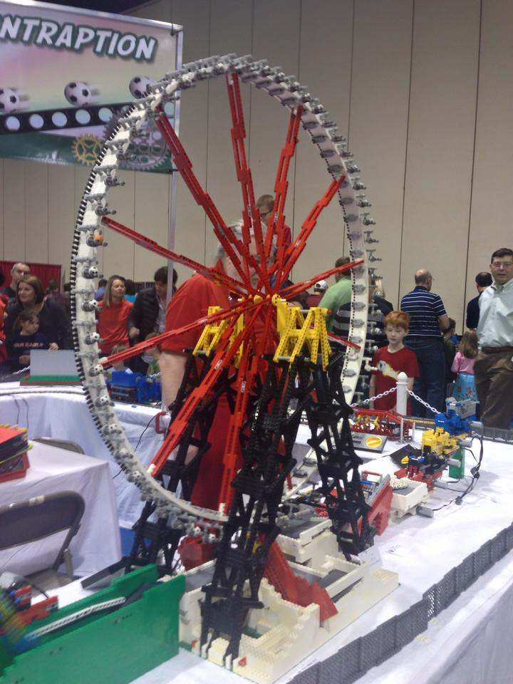 lego brickfair wheel