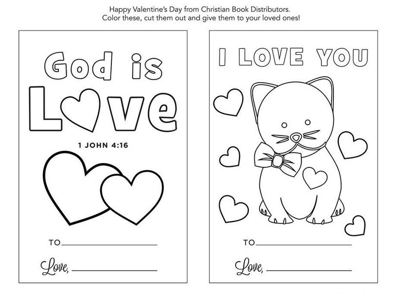 Free christian valentines