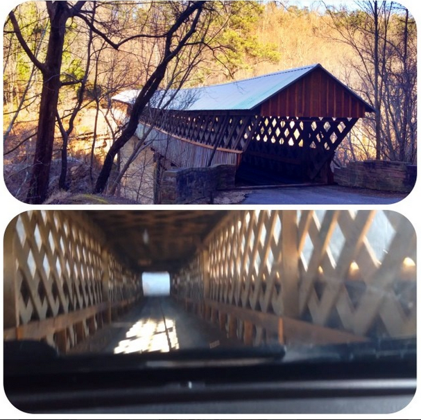 covered bridges blount christie dedman