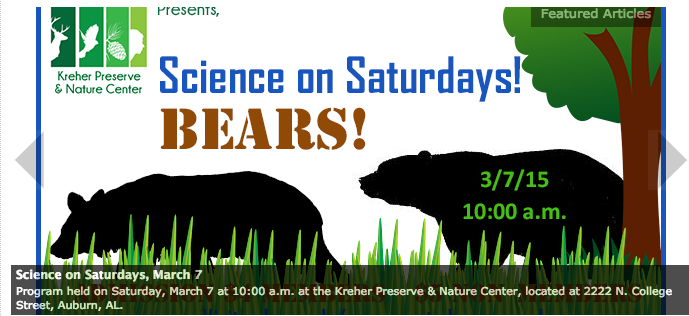auburn nature center science day