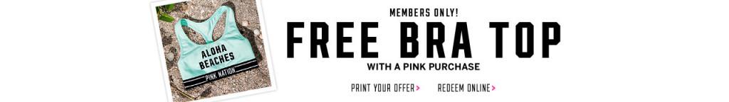free bra top