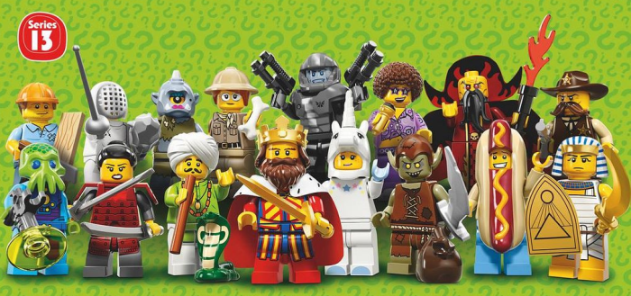 lego minifigures 2 for 5