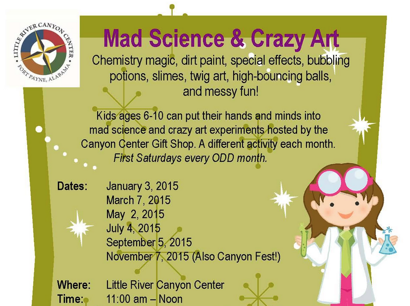 little river canyon science day