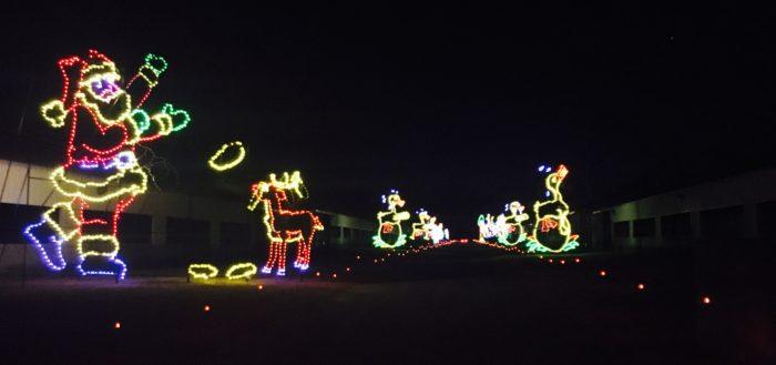 review of shadracks christmas wonderland drive thru light display save on admission