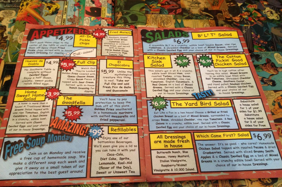 lots of fun, great food - Review of Supper Heroes ...