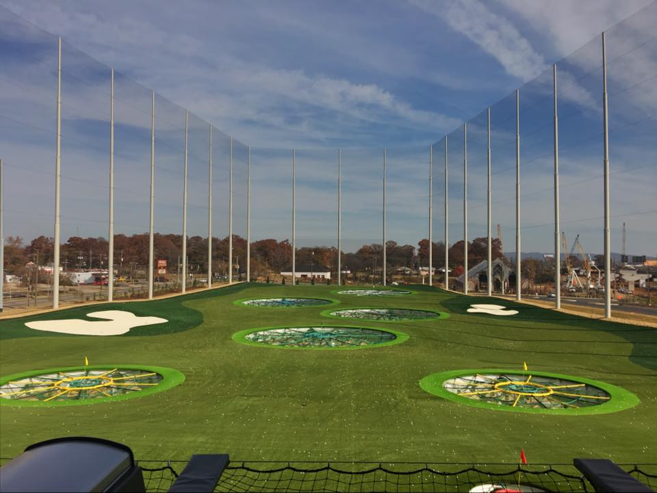 Birmingham Top Golf Christie Dedman