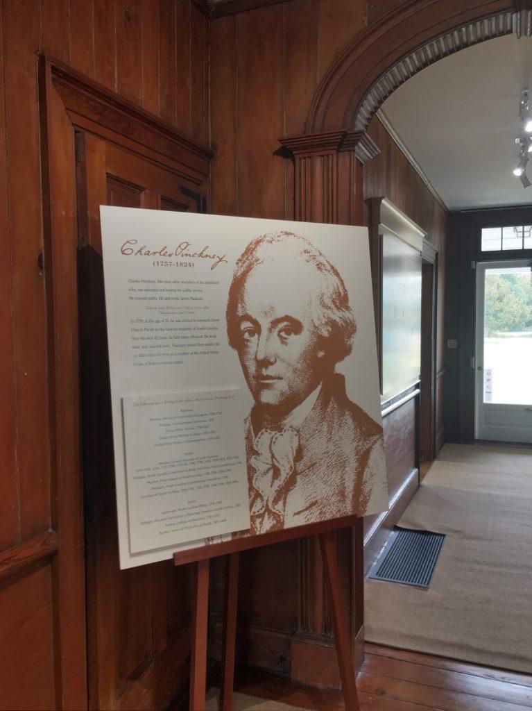 Charles Pinckney museum christie dedman