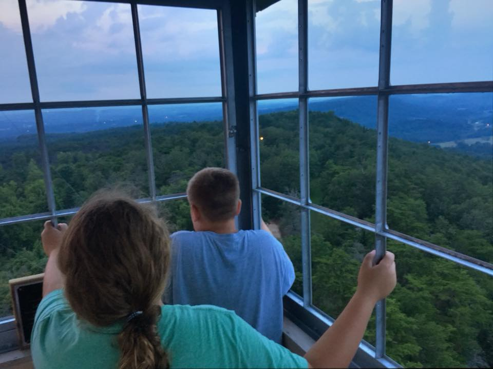 fire tower kids dedman